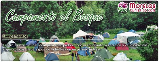 Campamento el bosque en for Como llegar al ministerio del interior