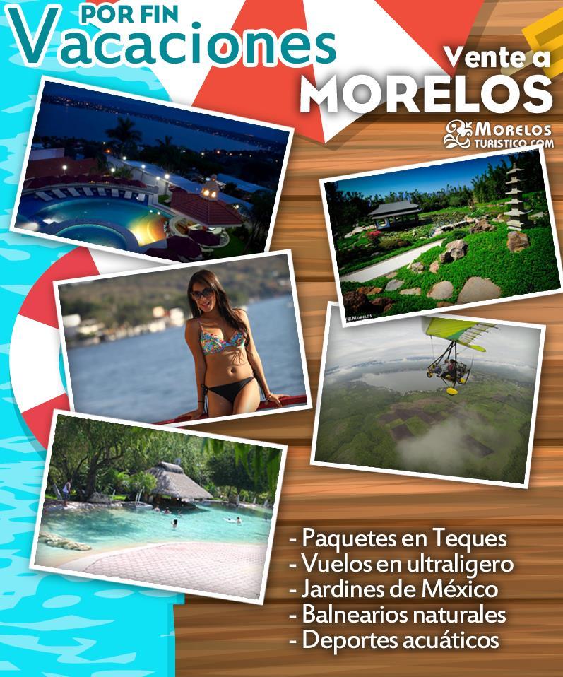 Vacaciones en cuernavaca tepoztl n tequesquitengo for Villas imss tequesquitengo mor